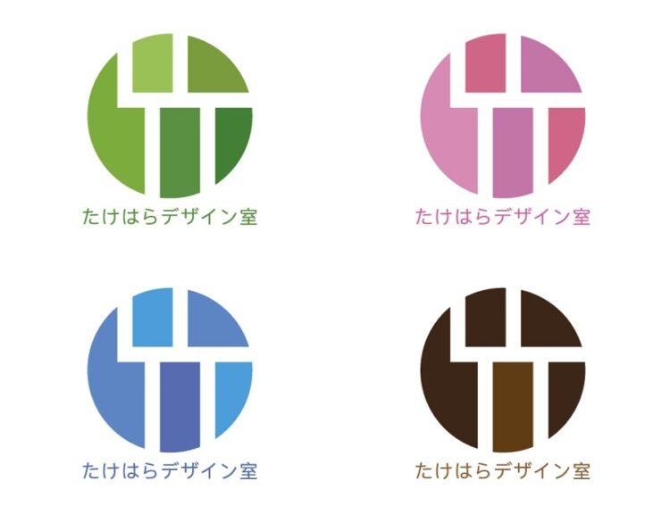 ロゴの色の違い